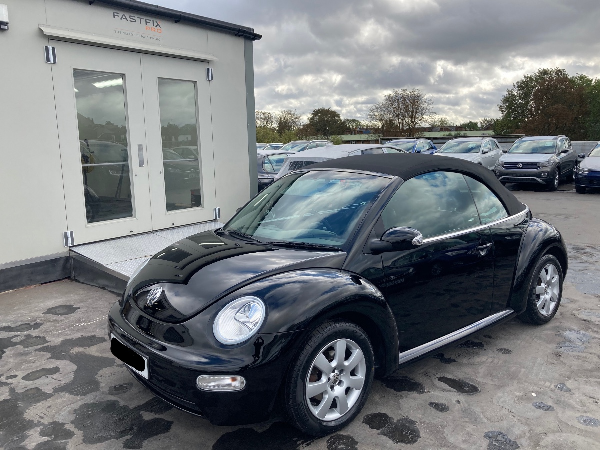 Beetle re-paint painted, fitted and polished