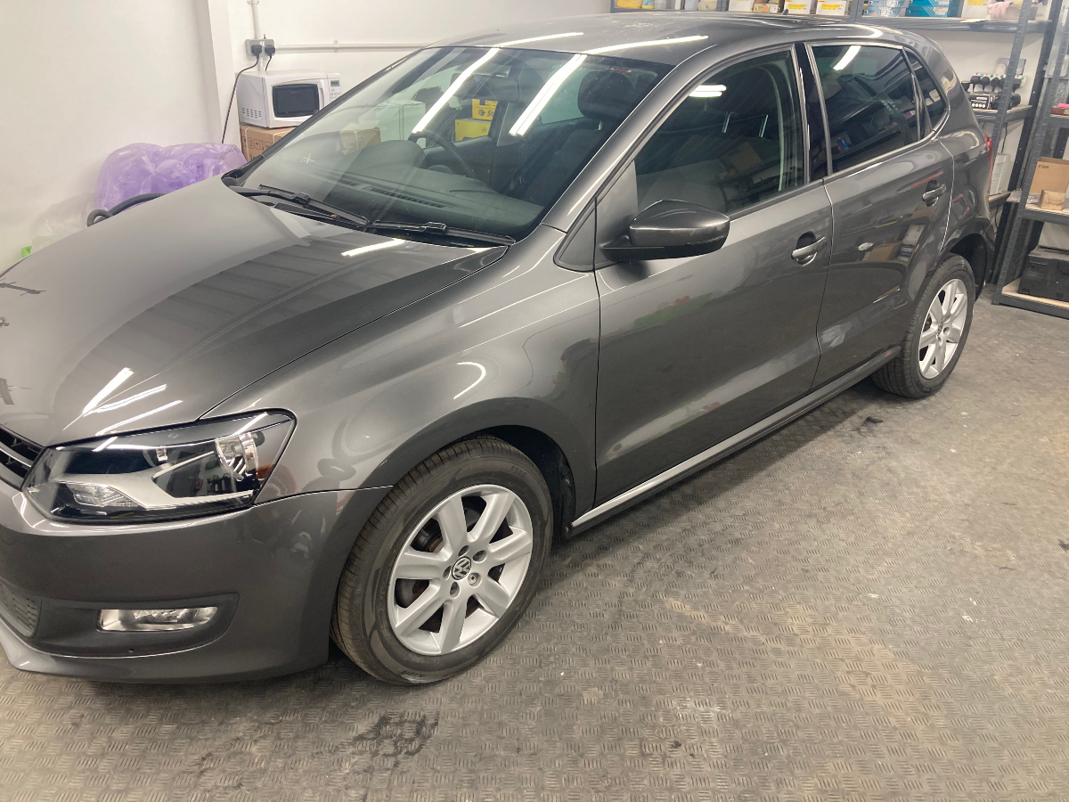 Polo completed repairs after