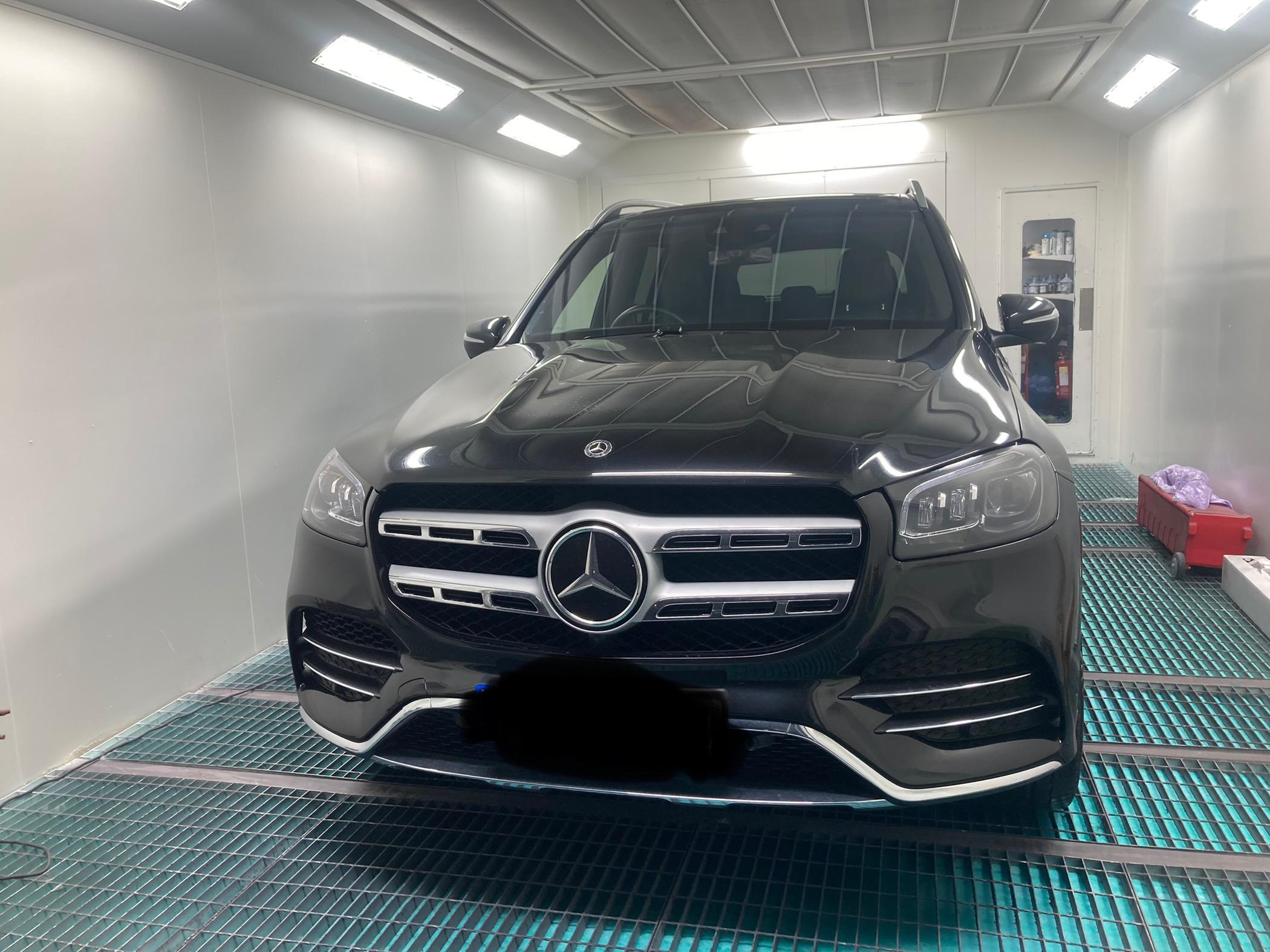 Mercedes GLS painted, polished & re-assembled
